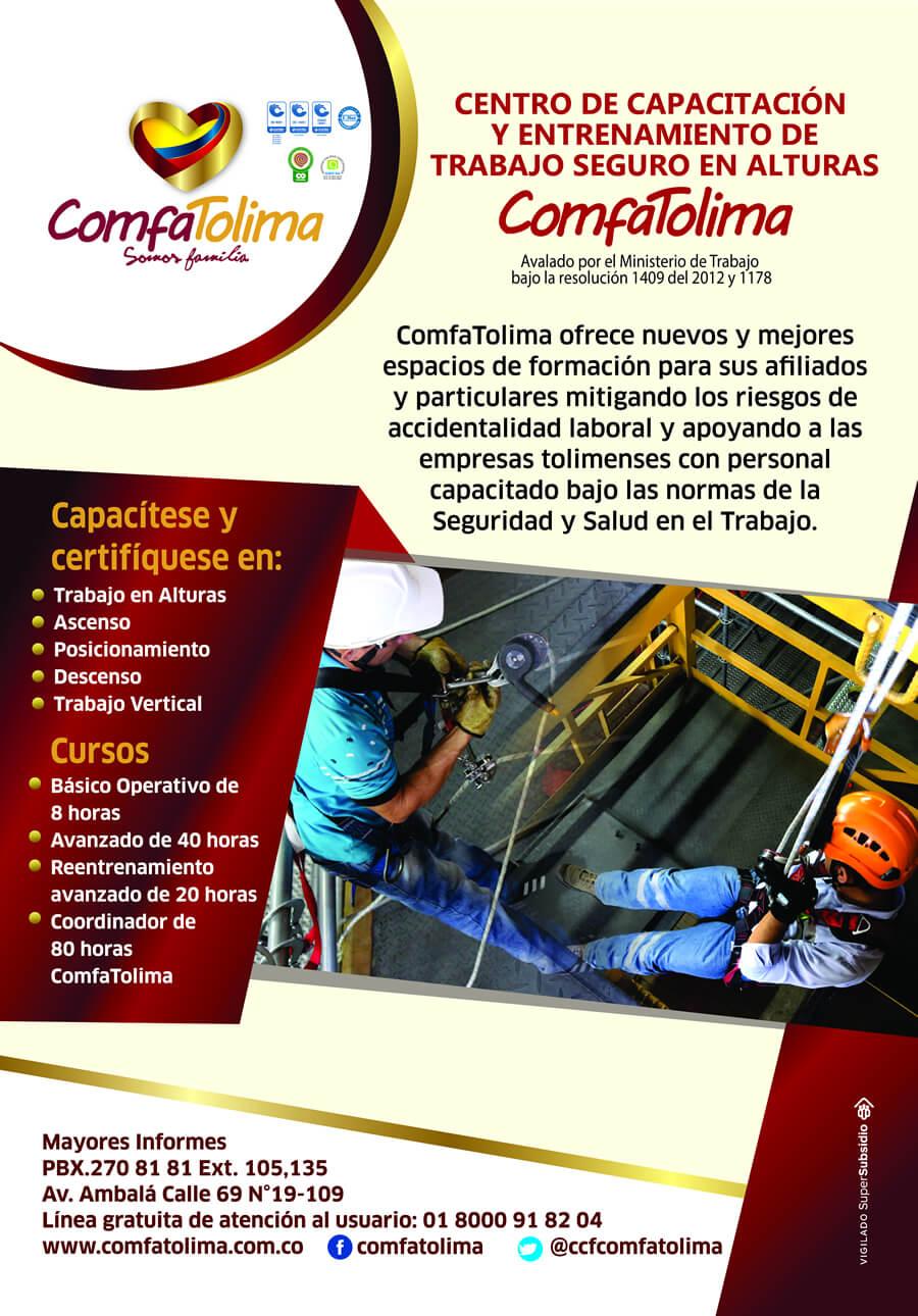 Centro de capacitación y entrenamiento de trabajo en alturas