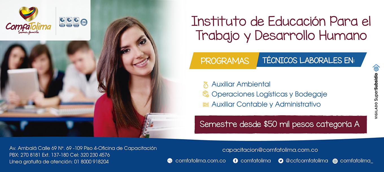 Instituto para el trabajo y el desarrollo humano